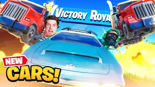 CARS in FORTNITE!