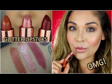 New Gerard Cosmetics Glitter Lipsticks Youtube
