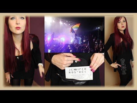 Jennifer Rostock KONZERT - Outfit, Make Up & Bühnenshow