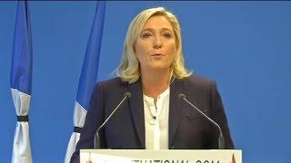 """Marine Le Pen: """"Les Français ne sont plus en sécurité"""""""