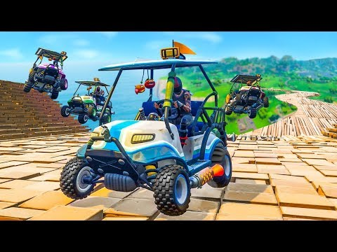EXTREME CUSTOM RACE TRACK In Fortnite Playground v2