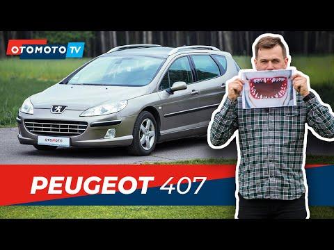Peugeot 407 (2006) 2.0 HDi 136 KM - Rekin Czy Płotka Na Rynku Wtórnym? | Test I Recenzja OTOMOTO