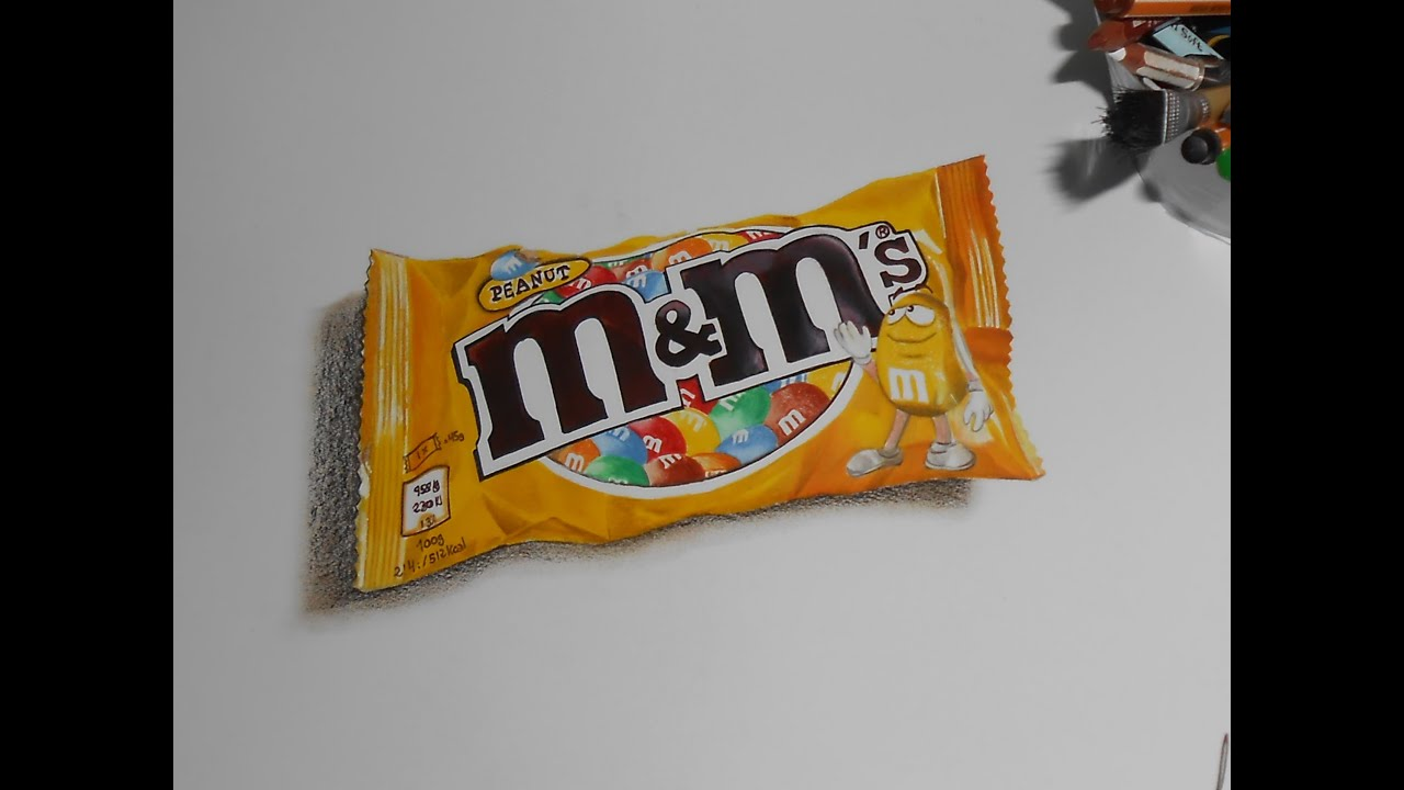 This is a picture of Wild M&m Drawing