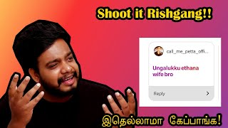 Q&A | First Ever Shoot It Rishgang!! Episode-1 | RishGang | RishiPedia | Tamil