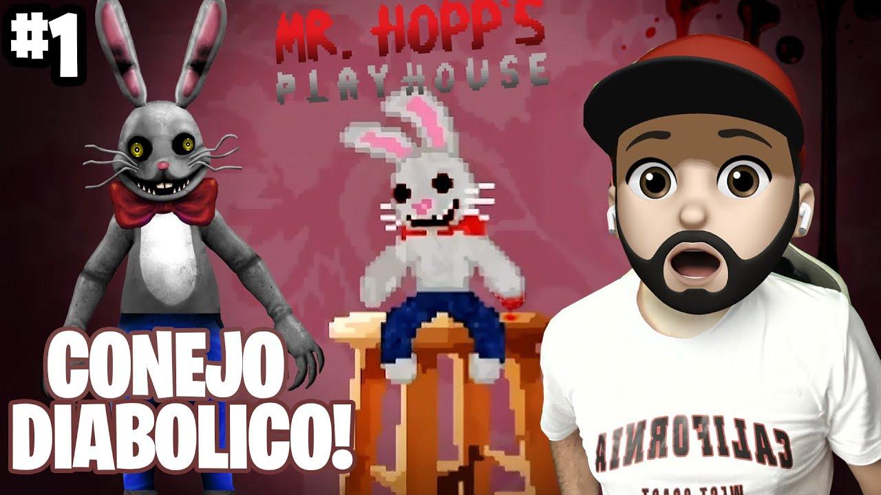 Download TENGO UN PELUCHE MALDITO | Mr. Hopp's Playhouse Capitulo 1 | GAMEPLAYS FOXY