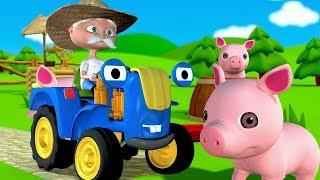 Скачать Синий Трактор Песенки для детей Едет трактор