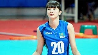 Girl Hated For Being Too Pretty To Play Volleyball – Sabina Altynbekova