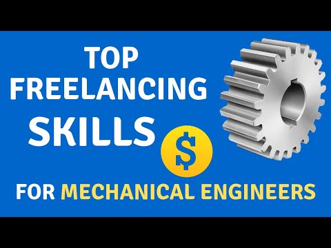 Top Freelancing Skills For Mechanical Engineers |Start Extra Income|Get jobs