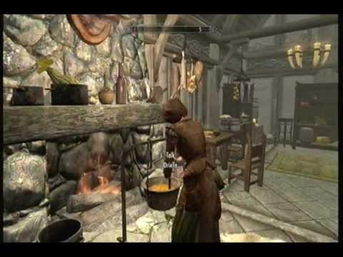 skyrim hearthfire house additions youtube