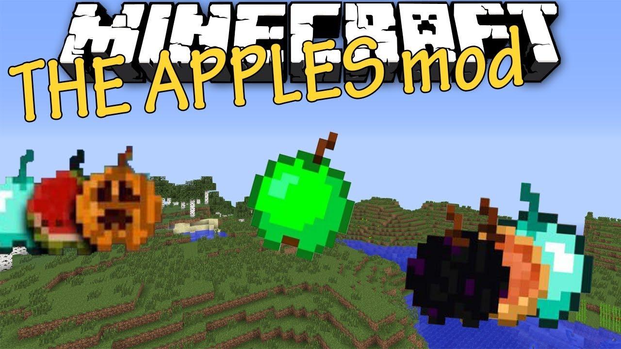 майнкрафт мод на опасные яблоки #3