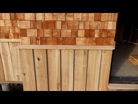 Going to the Sawmill - Making Board and Batten Wainscoting from Tulip Poplar