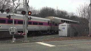 A Few Trains & MBTA Middleboro Extra