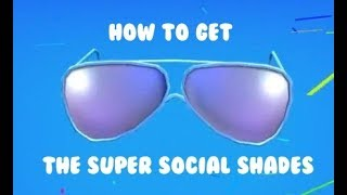 [ROBLOX] Wie bekomme ich The Super Social Shades **New Intro + Outro!**