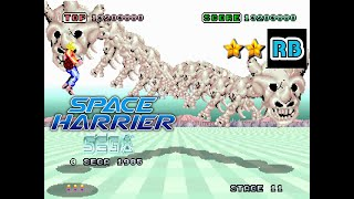 1985 [60fps] Space Harrier Nomiss ALL