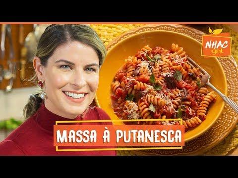 Macarrão à putanesca: aprenda a fazer prato clássico italiano  Rita Lobo  Cozinha Prática