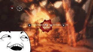 BOOMSHOT TROLLING in Gears of War 3 (Hilarious Rage!)