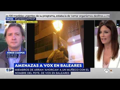 Entrevista a Jorge Campos Asensi en Espejo Público de Antena 3. thumbnail