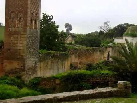 the beautiful Citadel of Chellah Gardens
