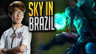 Sky and Winged having a blast in Brazil - Sky's Stream Highlights (Translated) thumbnail