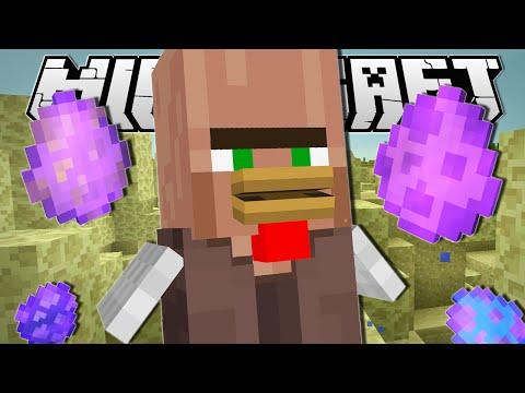 Minecraft | CHICKEN VILLAGER'S MAGIC EGGS!! | Custom Command