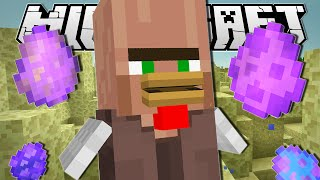 - Minecraft CHICKEN VILLAGER S MAGIC EGGS Custom Command