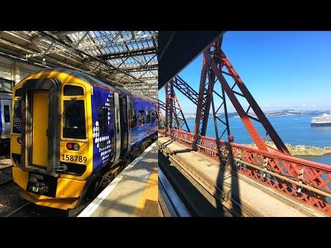 Edinburgh - Forth Bridge with ScotRail Train, Scotland