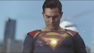 "Supergirl 2x01 - ""Supergirl & Superman"" Helicpter Scene !!"