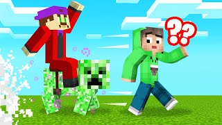 ALL MOBS Are CREEPERS In MINECRAFT! (Run!)