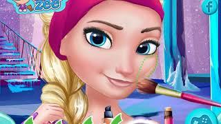 Праздничный макияж для Эльзы из Холодного Сердца Holiday makeup for Elsa from Frozen