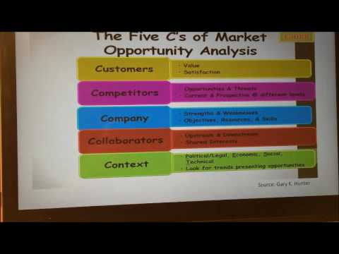 Fab 8-The Five C's of Market Opportunity Analysis