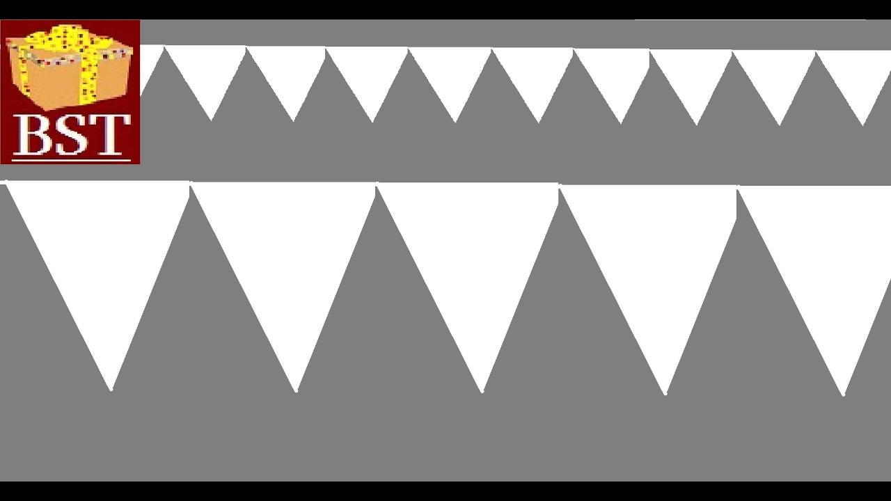 Как сделать кусудамуиз треугольников