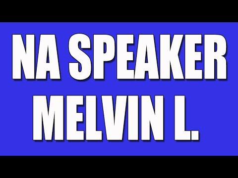 NA Speaker - Melvin L. - Narcotics Anonymous Speaker