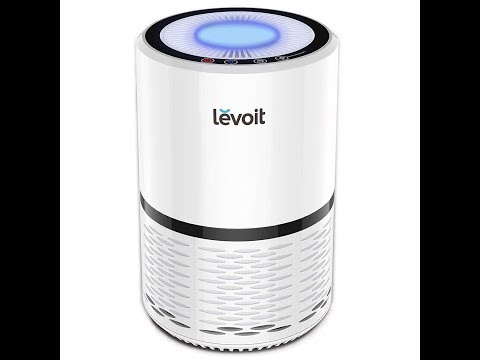 LEVOIT LV H132 Air Purifier with True Hepa Filter, Odor Allergies Eliminator for Smokers,