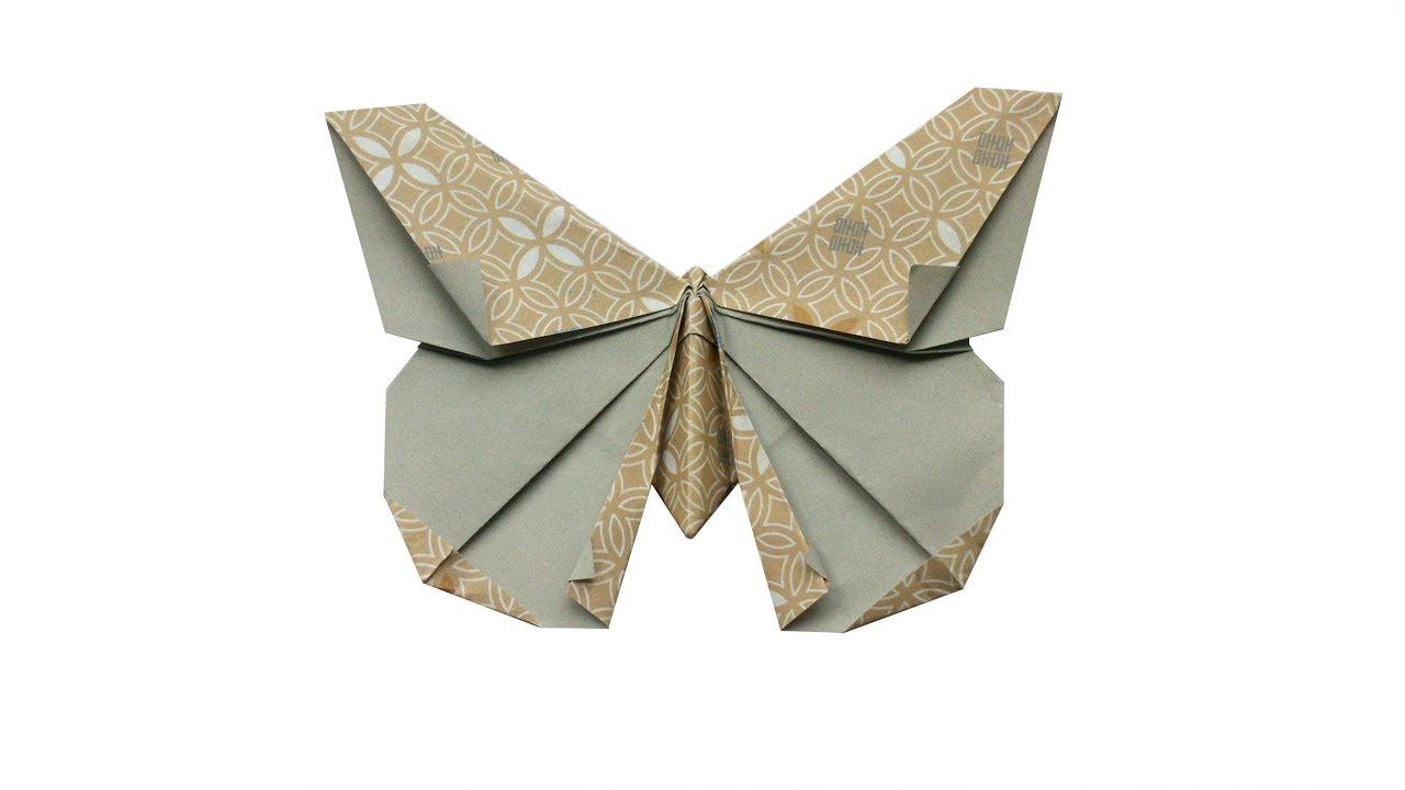 Origami Butterfly (Design by Michael G. LaFosse) - YouTube - photo#40