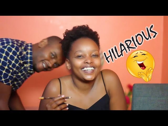 HUSBAND NARRATES MY MAKE UP ROUTINE | THE WAJESUS FAMILY
