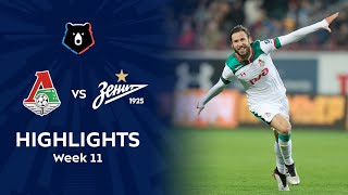 Highlights Lokomotiv vs Zenit (1-0)