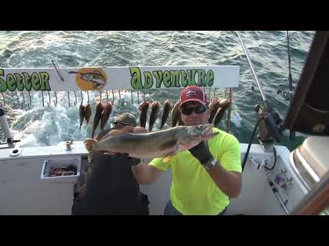 SunSetter Adventure Fishing Charters Erie Pa.