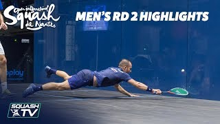 Squash: Men's Rd 2 Highlights - Squash de Nantes 2018