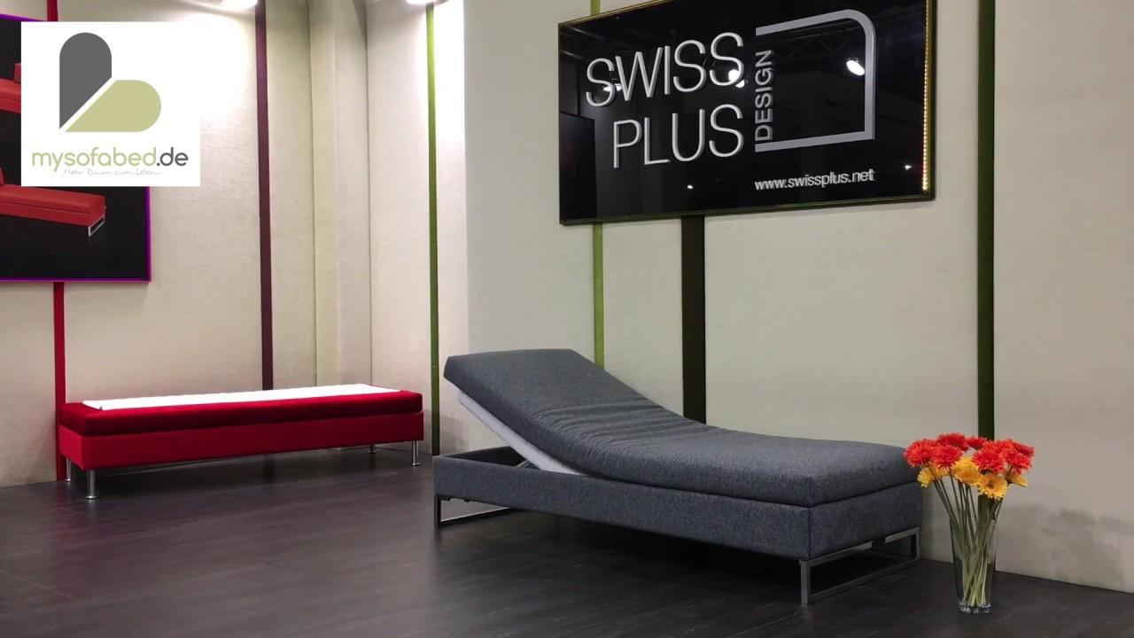 Swiss Plus Schlafsofas Doppio Singolo Cento 60 Picolo Divan Mysofabed De