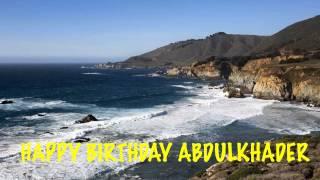 AbdulKhader Birthday Song Beaches Playas