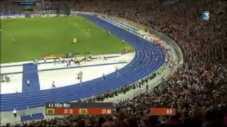 2009 08 Monde 4x100m M finale