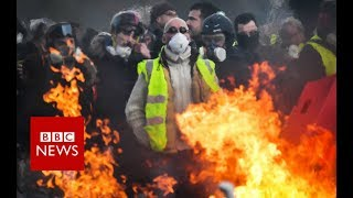 """Fractured France: """"there will be a civil war"""" - BBC News"""