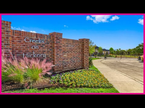 Creeks On Hickory in Frisco Tx by KB Homes