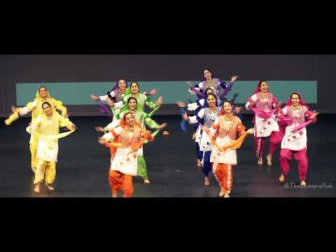 BASS Queens @ Harbour City Bhangra 2016 (2nd place)