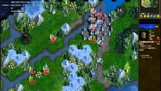 Haldiel Vs Elderofzion - Loyalists Vs Elves - Replay Of Battle For Wesnoth Ladde