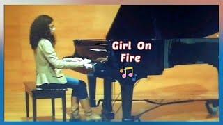 Girl on Fire Piano- Alicia Keys