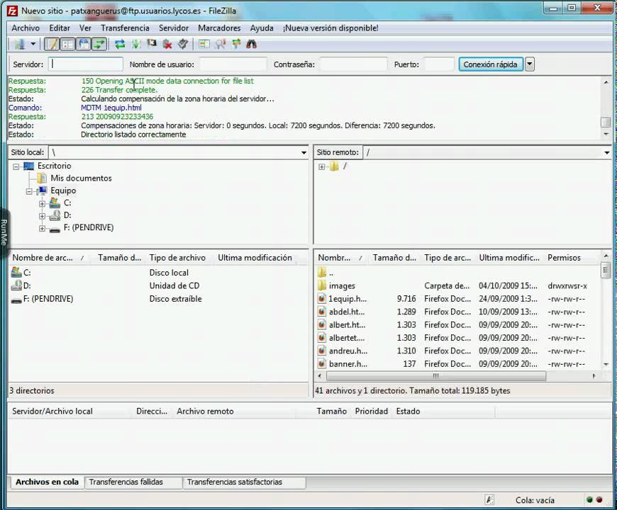 FILEZILLA Client Portable (videotutorial)