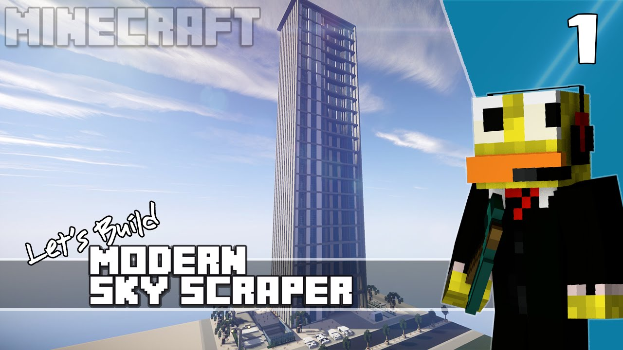 How To Make City Buildings In Minecraft