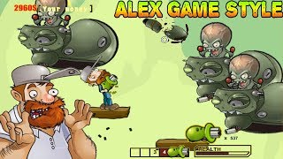 Fighting Zombies War - Crazy Dave VS Zombies (Zombie games)