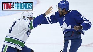 Why Alex Edler Answered The Bell With Wayne Simmonds | Tim & Friends